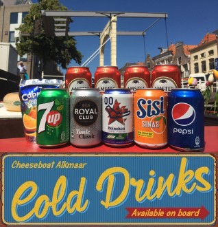 Cold drinks on board