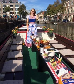 Kaasfondue kaasboot Alkmaar